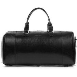 Brodrene Skórzana torba podróżna na ramię r30