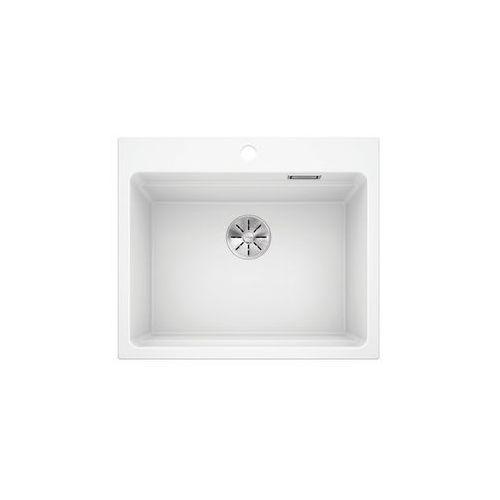 Blanco etagon 6 silgranit puradur biały, infino, szyny - biały połysk \ manualny