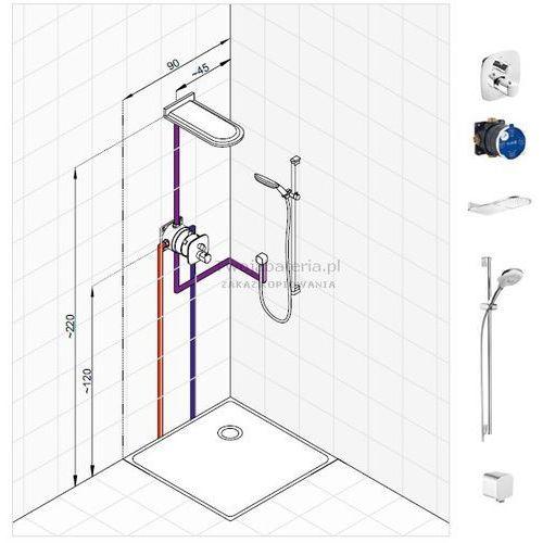 Kludi Ameo zestaw prysznicowy termostatyczny nr 3 Ameo nr 3