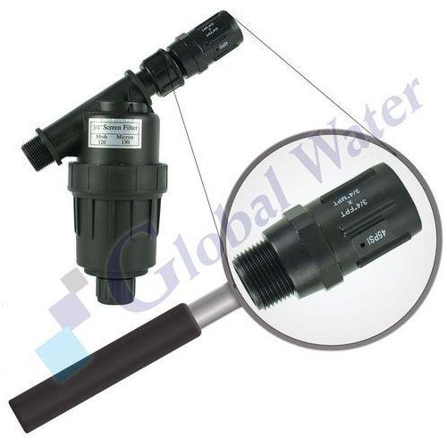 "Filtr Siatkowy Water Drop 3/4"" z regulatorem ciśnienia"