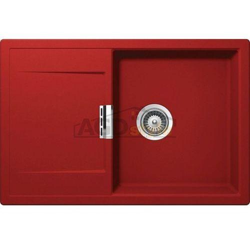 Zlewozmywak mono d-100 rouge (cristadur) ___zamów wycięcie otworów gratis___ marki Schock