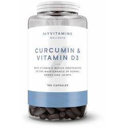 Myvitamins Kurkumina & witamina d3 - 180kapsułki