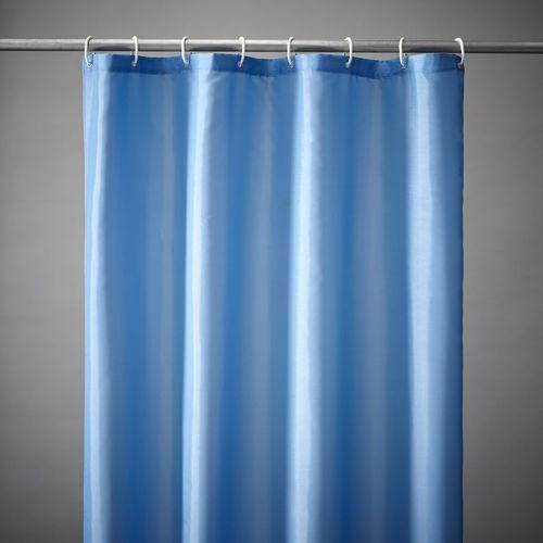 Zasłona prysznicowa, gładka, 8 kolorów, scénario marki Scenario