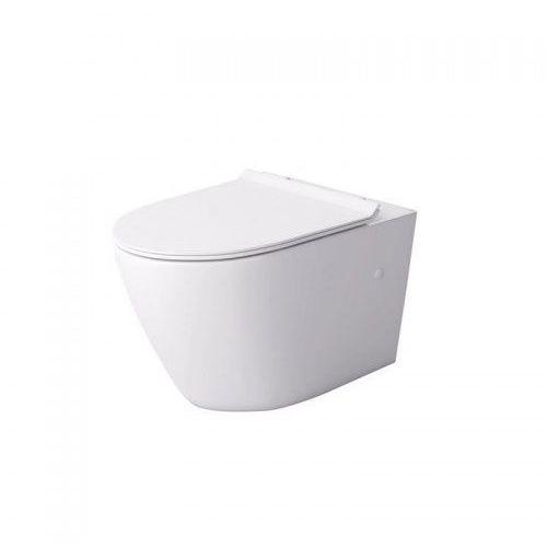 decos rimless miska wc wisząca z deską wolnoopadającą duroplast biała msm-3673rimslim marki Massi