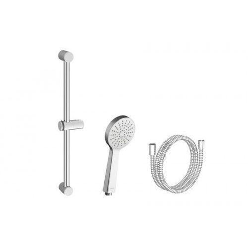 zestaw prysznicowy-wąż 150cm, słuchawka flat s, drążek 60cm 924.00 x07s005 marki Ravak