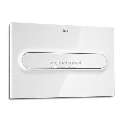 Roca przycisk spłukujący pl1 single biały a890095100