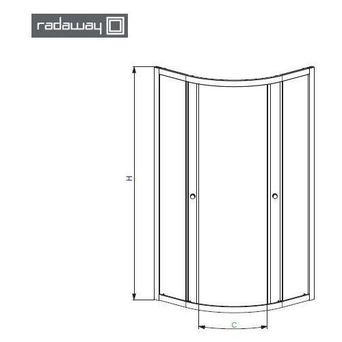 Radaway Premium a 90 x 90 (30403-01-01)