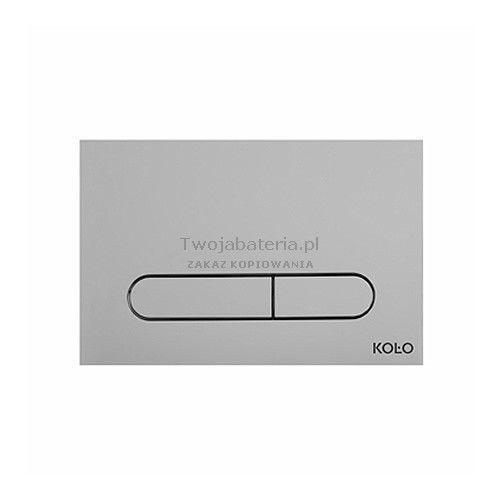 slim2 przycisk spłukujący chrom mat 94183003 marki Koło