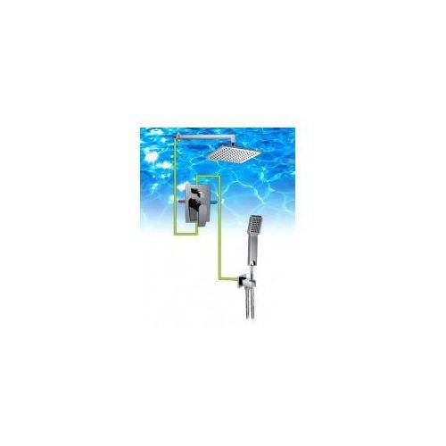 OMNIRES Kompletny system łazienkowy, podtynkowy, chrom SYS20, SYS20