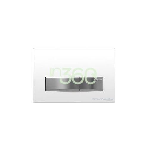 Geberit Sigma50 Przycisk uruchamiający przedni biały 115.788.11.5