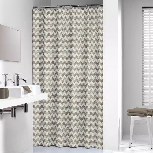 Zasłona prysznicowa tekstylna Motif (8717821455477)