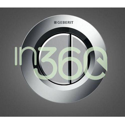 hytouch pneumatyczny przycisk uruchamiający wc typ 01, ręczny, podtynkowy, sigma 8cm, dwudzielny, chrom 116.043.21.1 marki Geberit