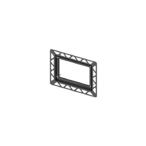 Tece ramka montażowa do przycisków czarny 9240647