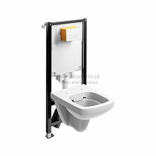 Koło nova pro zestaw wc slim2 miska wc prostokątna rimfree 99646000