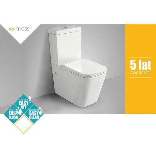 Kompakt WC TRINGO NANO+DESKA Massi