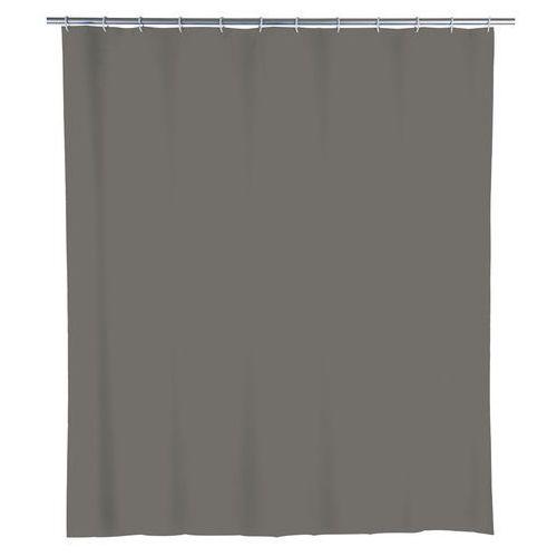 Zasłona prysznicowa, PEVA, kolor szary, 180x200 cm, WENKO