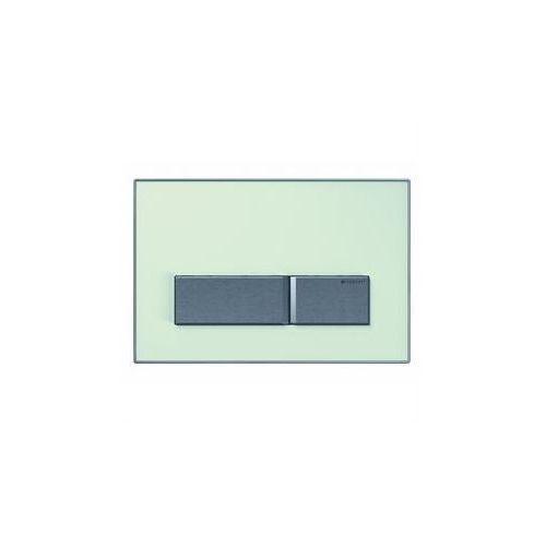 sigma50 przycisk uruchamiający, przedni, szkło zielone satynowane 115.788.se.5 marki Geberit