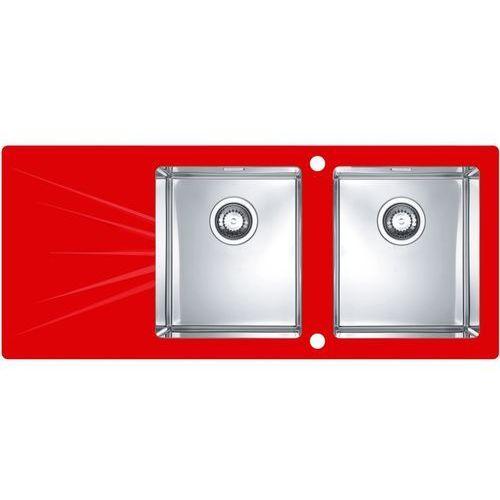 Zlewozmywak karat 30 prawy 1103671 czerwony + darmowy transport! marki Alveus