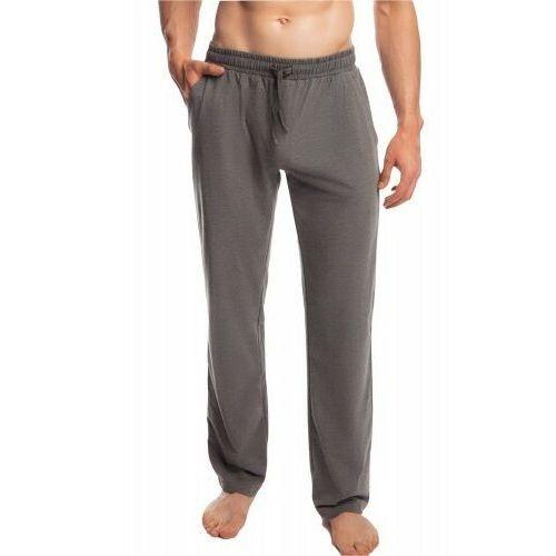 Męskie spodnie do piżamy Atlantic długie NMB 040 szare, NMB 040 szare