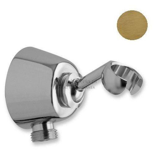 Sphera uchwyt prysznicowy z przyłączem kątowym stare złoto dp3053