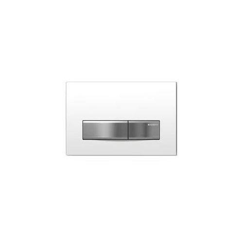 przycisk uruchamiający geberit sigma50, przedni biały/aluminium 115.788.11.5 marki Geberit