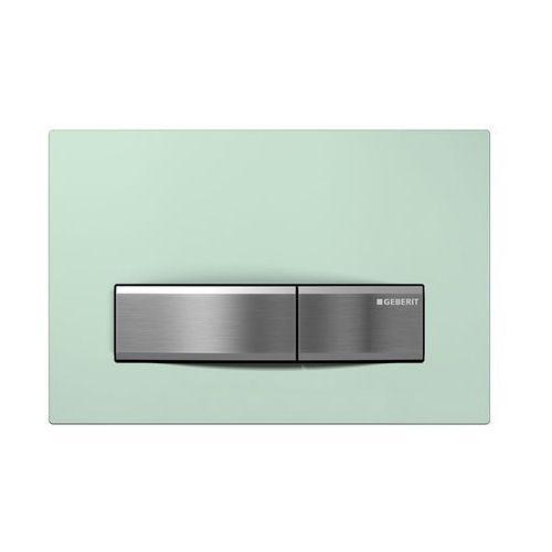 Geberit przycisk uruchamiający, szkło zielone Sigma50 115.788.SE.5