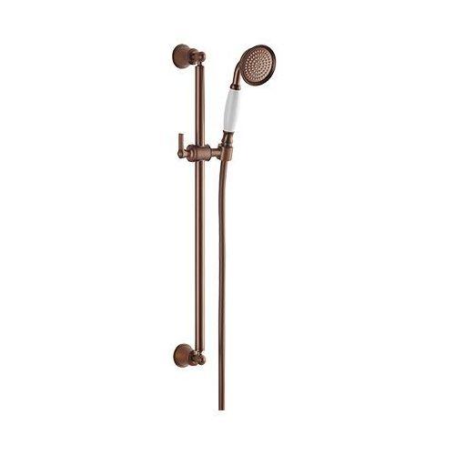 Omnires Armance-S ORB drążek prysznicowy ze słuchawką