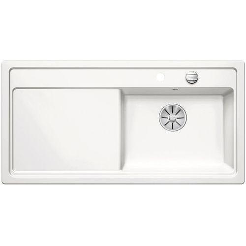 Zlewozmywak zenar xl 6s ceramika biały połysk prawa komora z korkiem infino marki Blanco