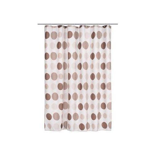 Zasłonka tekstylna cirklar brun 180 x 200 cm marki Duschy