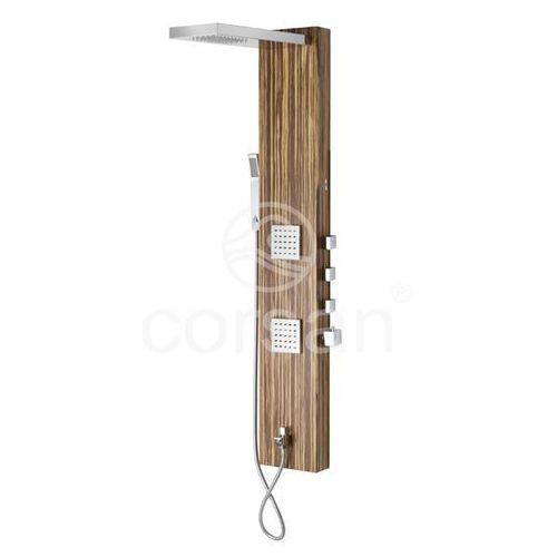 Panel prysznicowy z hydromasażem B-025 Teca Corsan