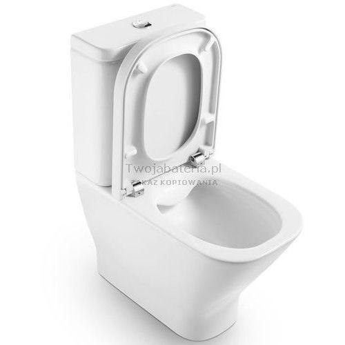 Roca Gap miska WC do kompaktu z Rimless A34273700H