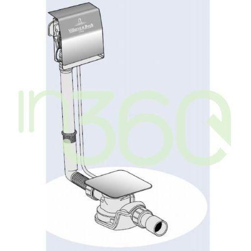 Villeroy & boch , przyłącze wody, zintegrowane z przelewem upcon0123