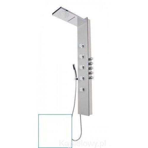 Polysan Soul 200 panel prysznicowy z termostatatem, akryl biały 78761 (8590729066620)