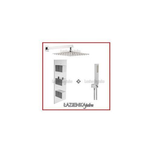 Podtynkowy zestaw prysznicowy z baterią termostatyczną Inea C2ST3, chrom ZEST94