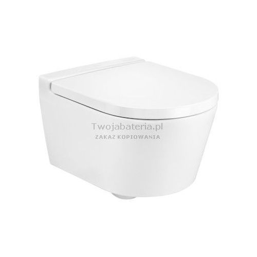 Roca Inspira Round miska WC wisząca Rimless Compacto A346528000