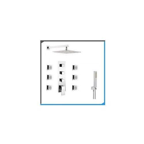 Podtynkowy zestaw prysznicowy z Corsan CMM03, chrom ZEST161