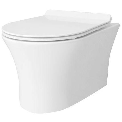 Miska wisząca WC bezkołnierzowa, Sergio Rimless Rea