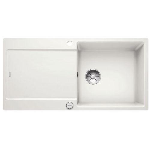 Zlewozmywak ceramiczny BLANCO IDENTO XL 6S BIAŁY POŁYSK PuraPlus (4020684658997)
