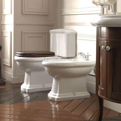 Kerasan retro kompakt wc odpływ poziomy 101301108101750990