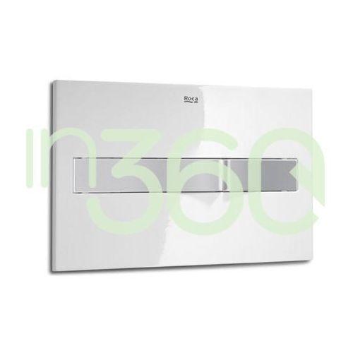Roca pl2 przycisk 2-funkcyjny biały/chrom mat a890096005