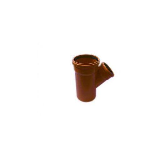 Trójnik kanalizacji zewnętrznej kz 160 x 110 / 45° marki Poliplast