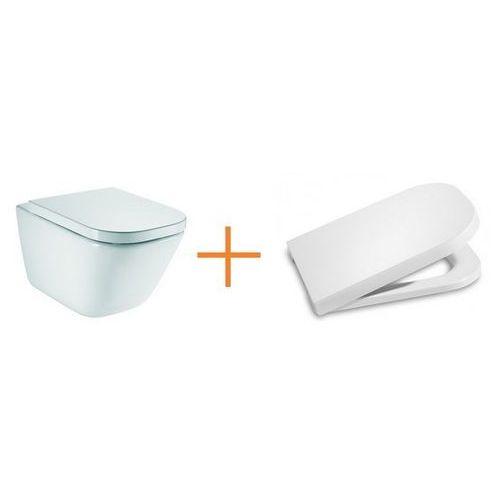 gap rimless miska wc wisząca maxi clean a34647l00m marki Roca