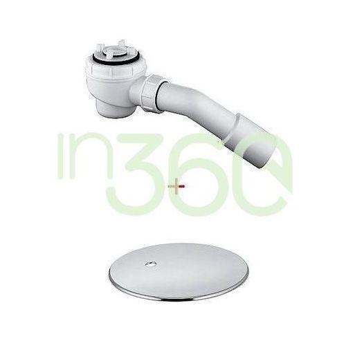 Kludi Tasso 50 Syfon samoczyszczący do brodzika o średnicy 50mm. Zestaw odpływowy - komplet 2105205-00