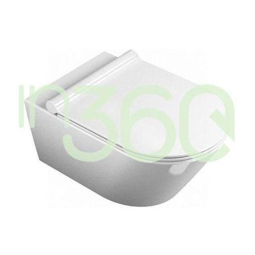 Catalano zero miska wc wisząca 50x35 +śruby mocujące (5kfst00) biała 1vsv50n00