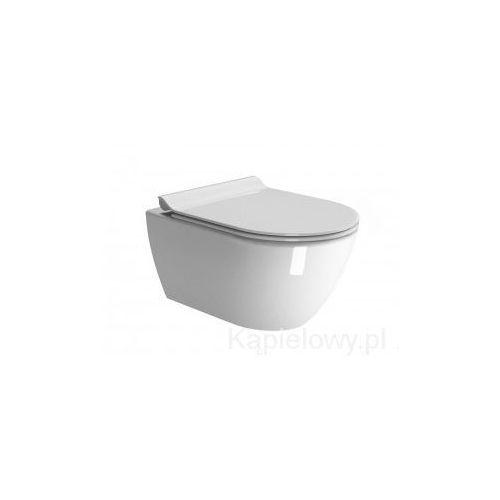 Gsi Pura miska ceramiczna wc podwieszana 36x55 cm 881511