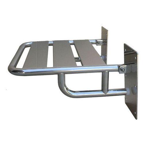 Siedzisko pod prysznic składane ⌀ 25 stal szlachetna połysk (5901764291428)
