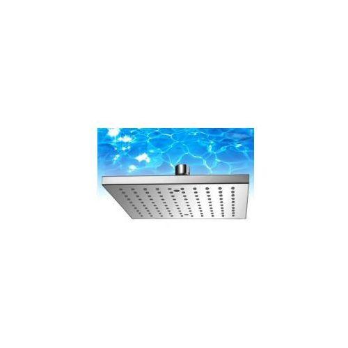 ocean deszczownica kwadratowa 25x25cm, chrom wgr225 marki Omnires