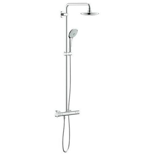 Grohe system prysznicowy z termostatem do montażu ściennego euphoria 180 27420001