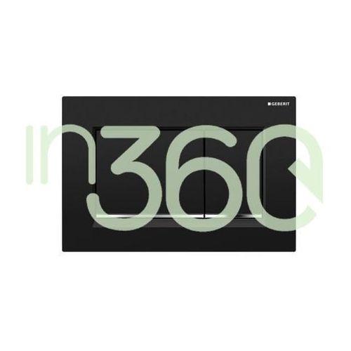sigma30 przycisk uruchamiający przedni, czarny-chrom bł.-czarny 115.883.km.1 marki Geberit