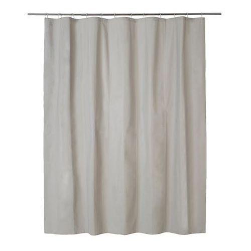 Zasłonka prysznicowa Cooke&Lewis Palmi 180 x 200 cm taupe